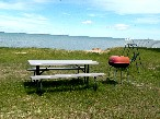 Picnic area and beautiful lakefront view!